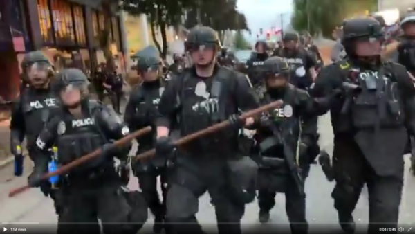 Seattle police chop clear